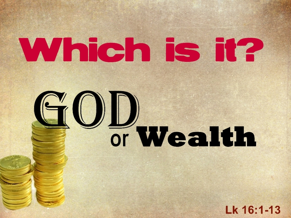 God vs Wealth (1/3)