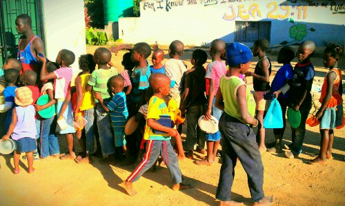 Feeding Programme, Iris Ministries South Africa