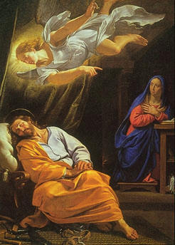 """The Angel gives an """"unnecessary"""" message to Joseph"""