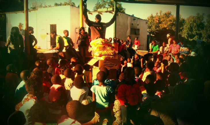 The Feeding Programme at Iris Ministries South Africa