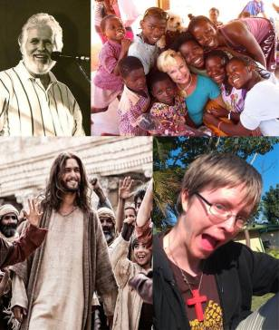 John Wimber, Heidi Baker, Jesus and me :)