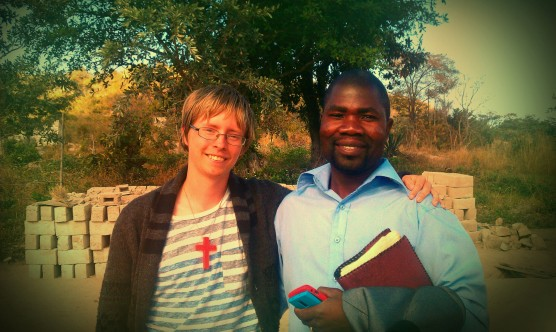 Me with Francis Shongwe