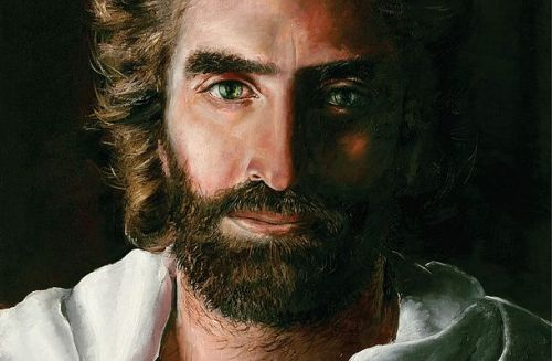 Jesus Christ depicted by Akiane Kramarik