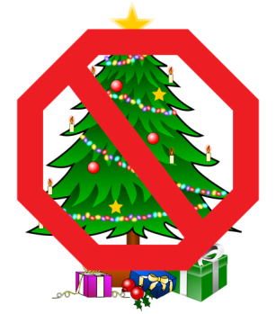 stop christmas trees