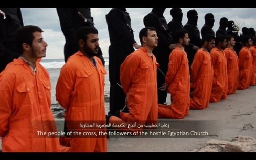 coptic martyrs and isis