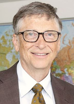 Bill Gates. Photo: UK Department for International Development, creative commons
