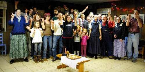 Bruderhof folks in Georgia. Image from emerging-communities.com