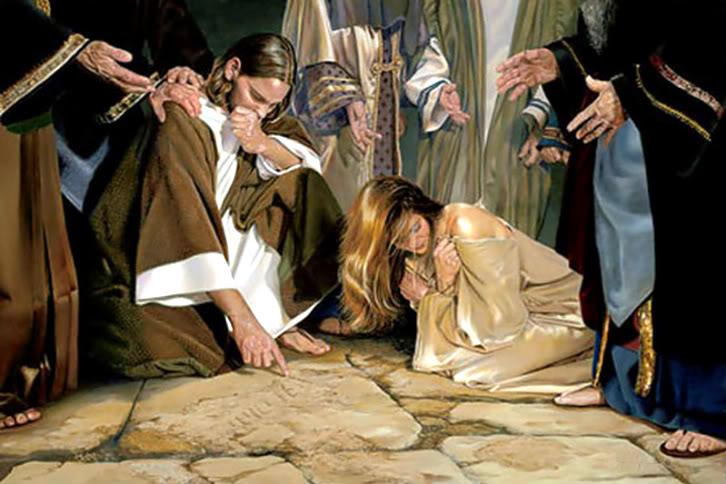 Why Jeremiah Explains Jesus' Sand-Writing | Charismactivism