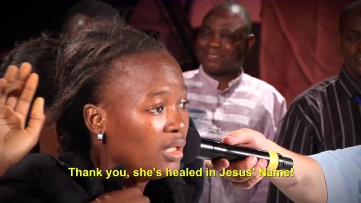 healed in nigeria