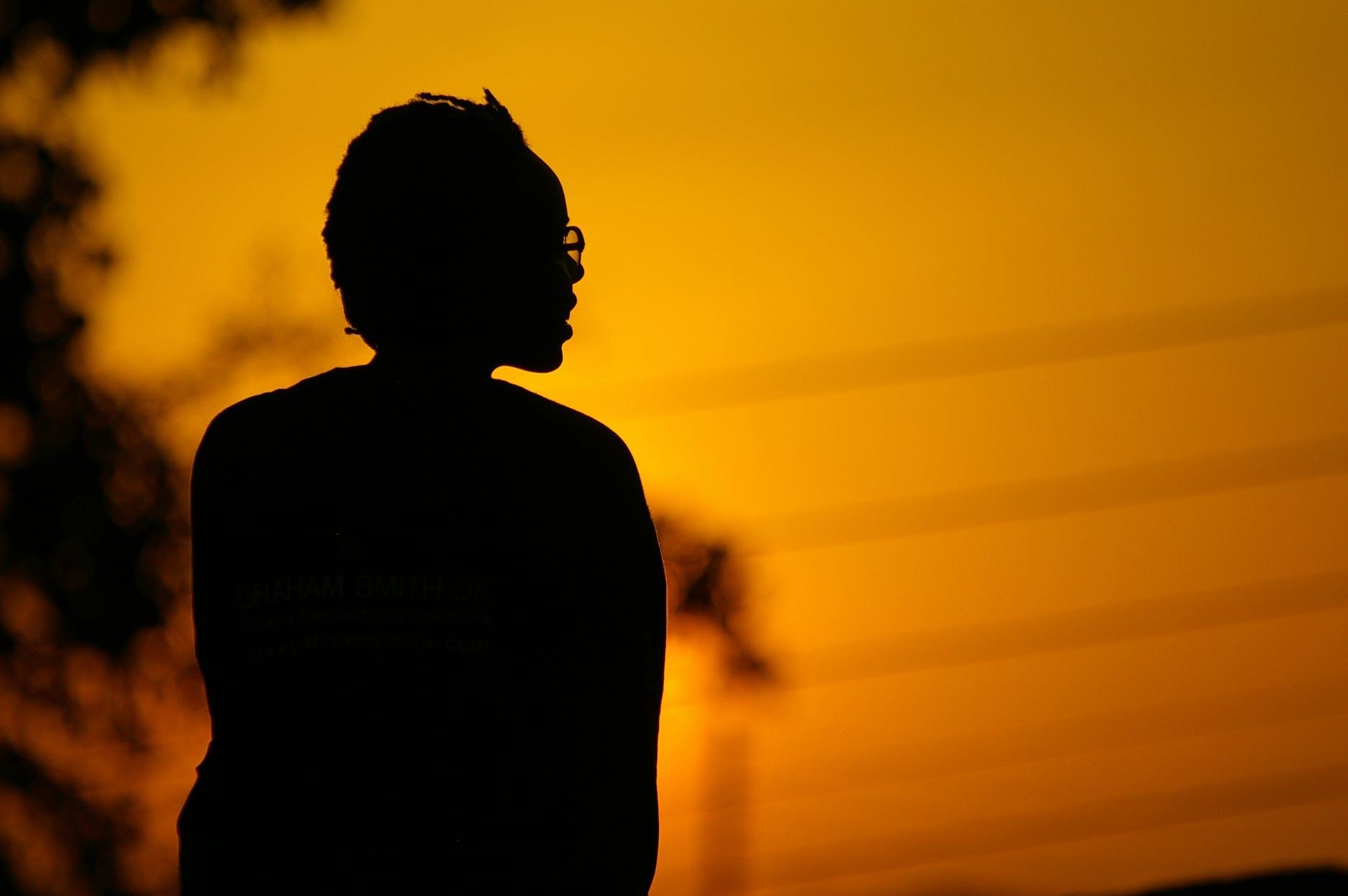 adult africa backlit color